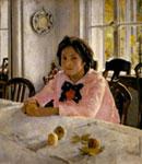 Серов. Девочка с персиками