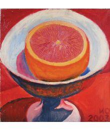 1/2 Grapefruit in a Bowl. Oleg Ivanov
