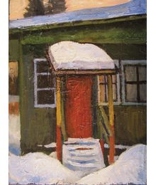 Winter Porch. Oleg Ivanov