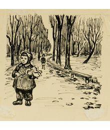 Девочка в парке. Наталья Орлова