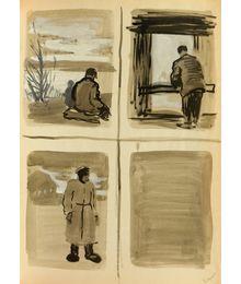 In the Country. Sketches. Natalia Orlova