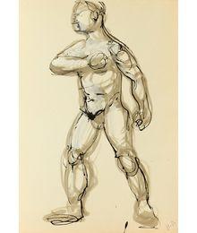 Эскиз мужчины. Наталья Орлова