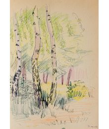 Birch-trees. Natalia Orlova
