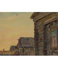 Old Houses. Evsey Reshin