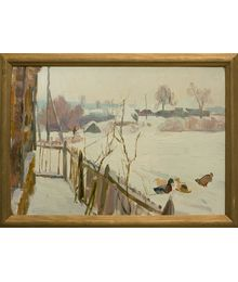 In the Winter. Viktor Kotov