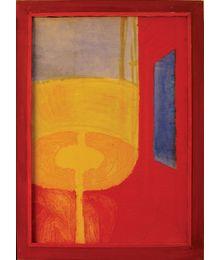 The Red Room, a Yellow Lamp. Oleg Ivanov