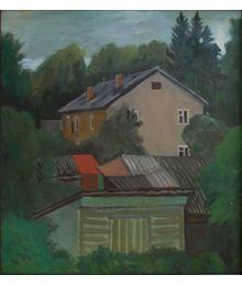 House and Yard. Oleg Ivanov