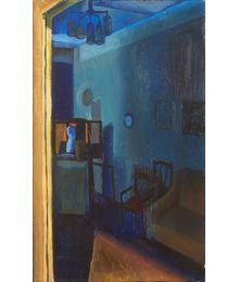 Workshop. Blue Interior. Oleg Ivanov