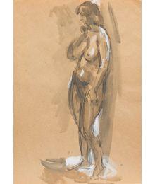 The Nude. Inna Mednikova