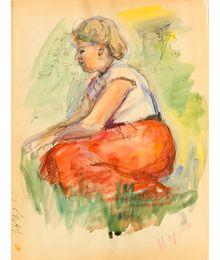 Женщина в лесу. Наталья Орлова