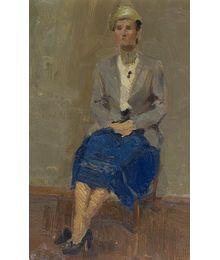 Woman's Portrait. Inna Mednikova