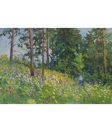 Blooming Bluebells. Inna Mednikova
