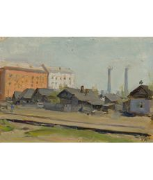 Building Staro-Kuznetsk. Inna Mednikova