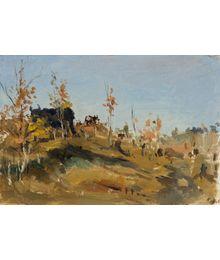 Landscape. Evsey Reshin