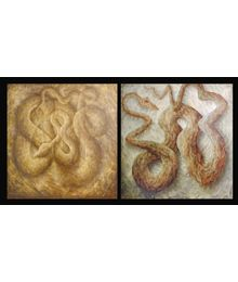 Snakes. Diptych. Andrey Kofman