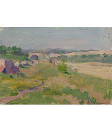 In the Fields. Vassily Minyaev