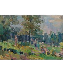 In the Forest. Vassily Minyaev