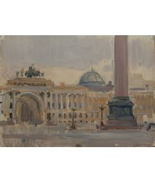 Saint Petersburg. Winter Palace. Vassily Minyaev
