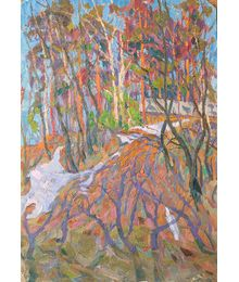 Red Trees. Viktor Kotov