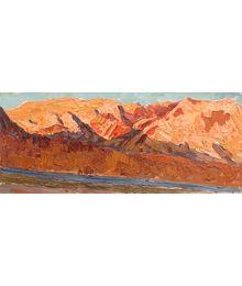 Sunset in the Mountains. Viktor Kotov