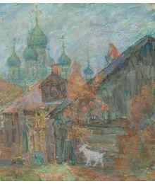 In Pereslavl-Zalessky in the Evening. Inna Mednikova