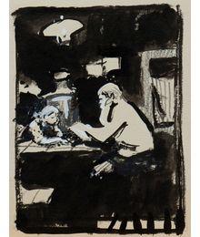Evening Tales. Illustration. Evgeny Rastorguev