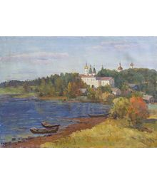 Landscape with a Church. D. Chumakov