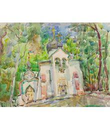 Church. Inna Mednikova