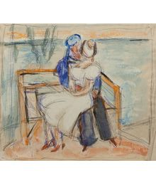 Date on a Bench. Evgeny Rastorguev