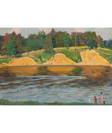 Landscape around Moscow. Evgeny Bitkin