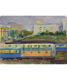 Fili. Metro Station. Evgeny Bitkin