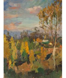 Golden September. Evgeny Bitkin