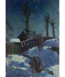 Moonlit Night. Evgeny Bitkin