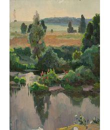 Летний пейзаж. Евгений Биткин
