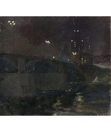 Moscow. Night. Evgeny Bitkin