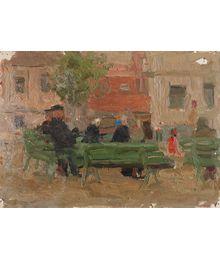 In the Yard. Inna Mednikova