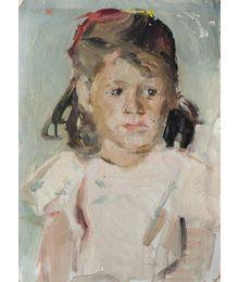 Girl's portrait. Inna Mednikova