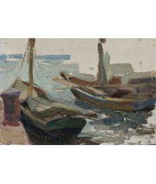 Boats. Inna Mednikova