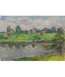 By the River. Inna Mednikova