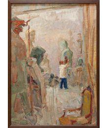 In the Studio. Inna Mednikova