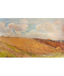 Working in the Fields. Inna Mednikova