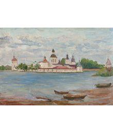 Church in Kirillov. Inna Mednikova