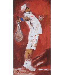 Lob. Lawn Tennis. Vadim Sokolov