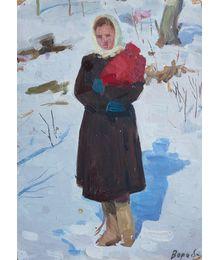 Nadezhda Vorobieva. Winter