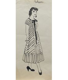 A Woman. Costume design. Tamara Guseva
