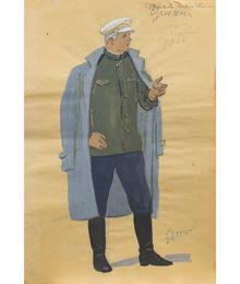 A Man in Uniform. Costume Design. Tamara Guseva