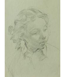 A Girl. Viktor Konovalov