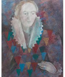 Ludmila Nikitina. Portrait of a Man in a Theatrical Costume