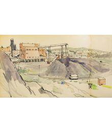 Industrial Landscape. Leonid Usaitis