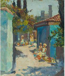 Market. Dmitry Chamin